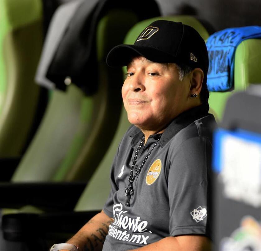 El argentino Diego Armando Maradona. EFE/Archivo