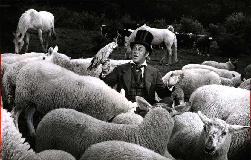 """Rex Harrison in """"Doctor Dolittle."""""""