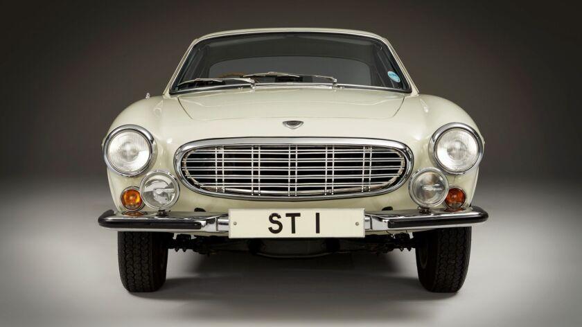 1967款沃尔沃1800 S老爷车