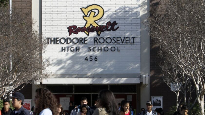 Roosevelt High School on Feb. 23, 2012.
