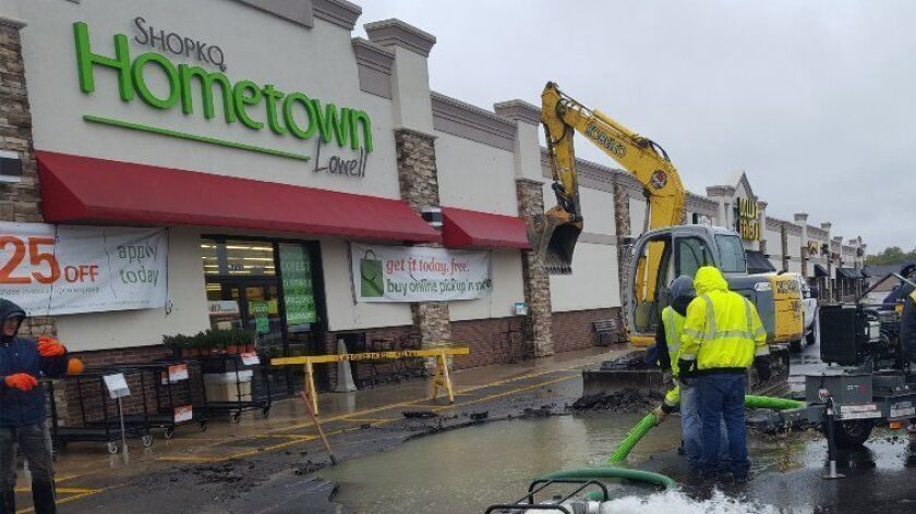 A Shopko Hometown store is seen in Lowell, Ind. The chain has filed for bankruptcy protection and the Lowell store is among the locations slated to be closed.