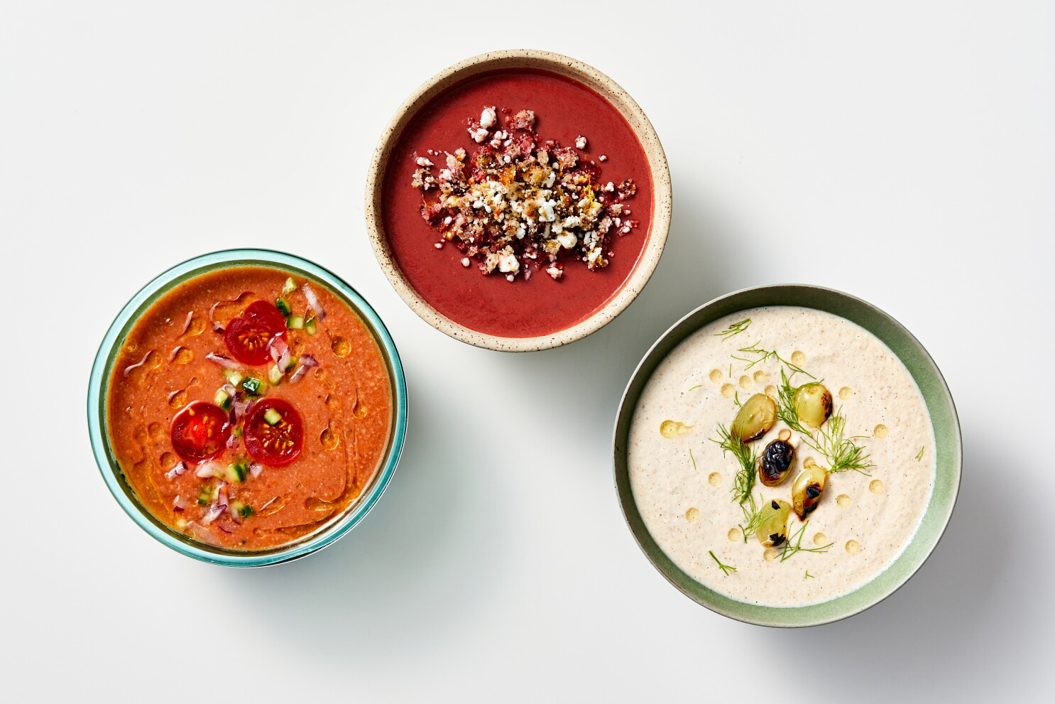 Stay chill once you grill with these 3 summer soups - Los Angeles Times