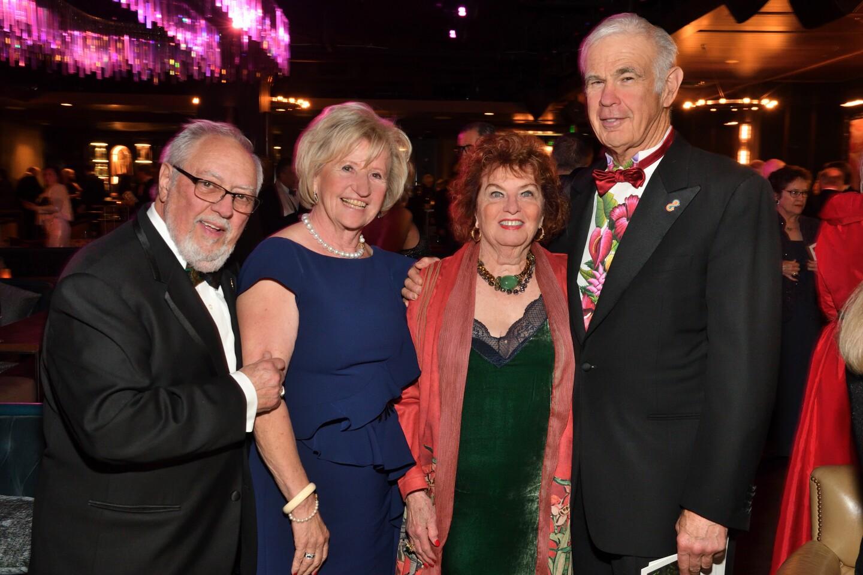 Ron and Ruth Leonardi, Drs. Gloria and Joseph Shurman