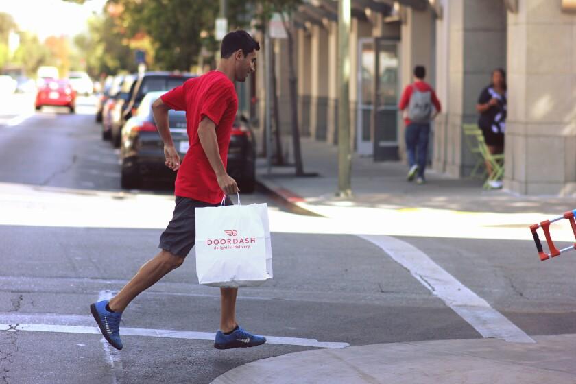 DoorDash delivery person