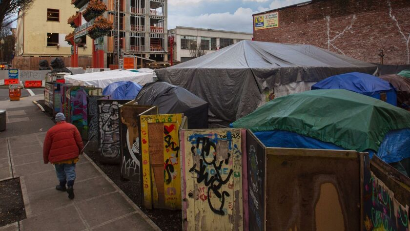 Portland officials have announced plans to relocate a longtime homeless encampment known as Right 2 Dream Too.