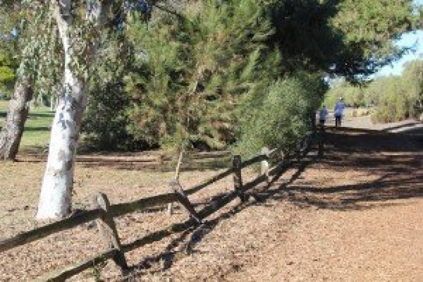 Fencing along the lower half of the Rancho Santa Fe Golf Club will soon be replaced.