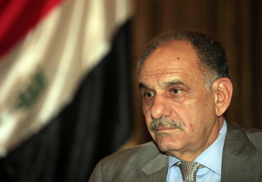 Iraq deputy prime minister's convoy attacked by gunmen