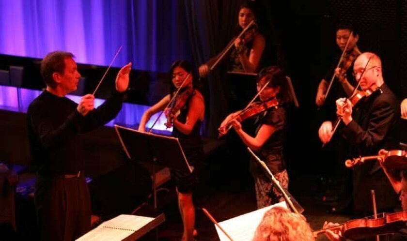 The Luscious Noise performance series at Anthology, featuring members of the San Diego Symphony.
