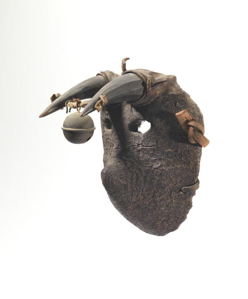 Guatemalan masks at the Fowler