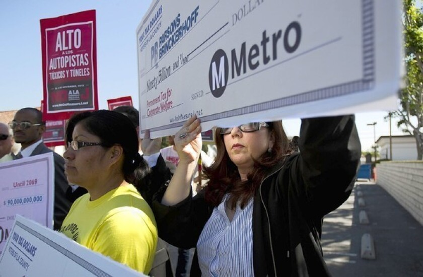 Foes of transit sales tax extension face uphill battle