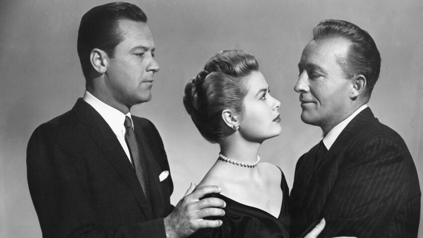 "William Holden,  Grace Kelly and Bing Crosby in ""The Country Girl."""