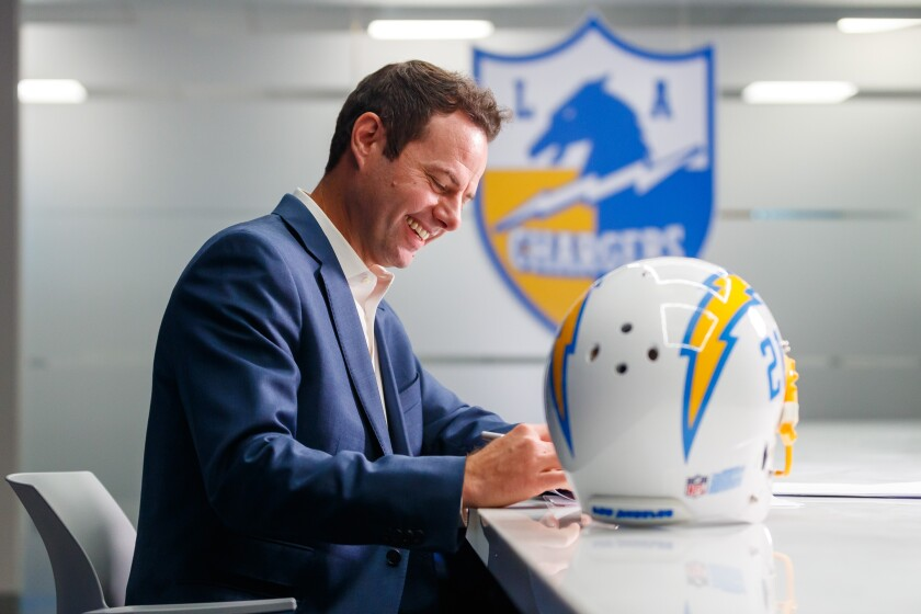 Brandon Staley has signed on to become the Chargers' 17th head coach.