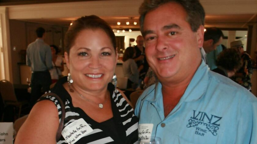 Machelle Griffin and Vinnie Griffin were the co-owners of Vinz Wine Bar and Continental Delicatessen in Escondido.