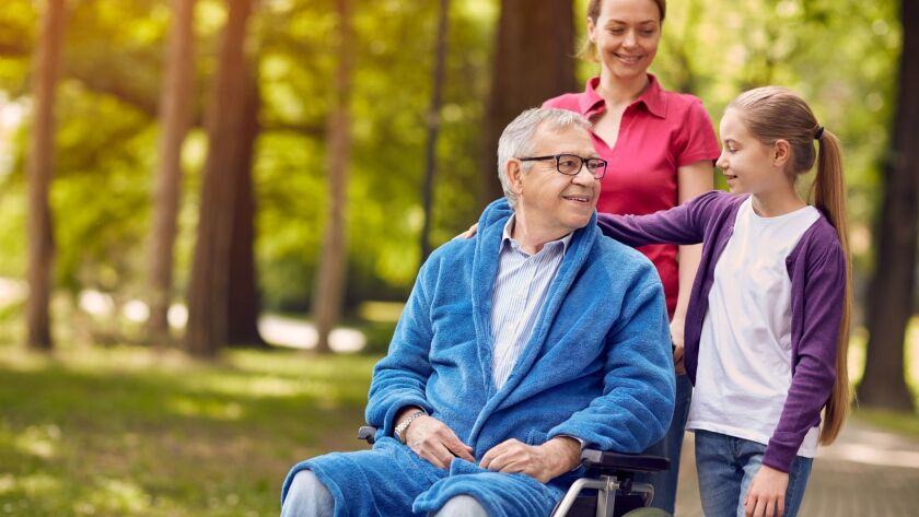 Nearly two-thirds of caregivers are 50 or older, meaning many have responsibilities for both their parents and children.