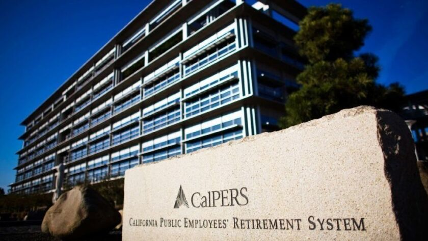 The CalPERS headquarters in Sacramento.