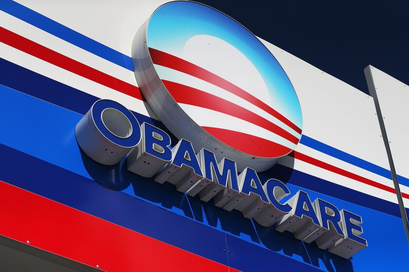 An Obamacare sign invited enrollments in Florida as the deadline for 2016 coverage approached last month.