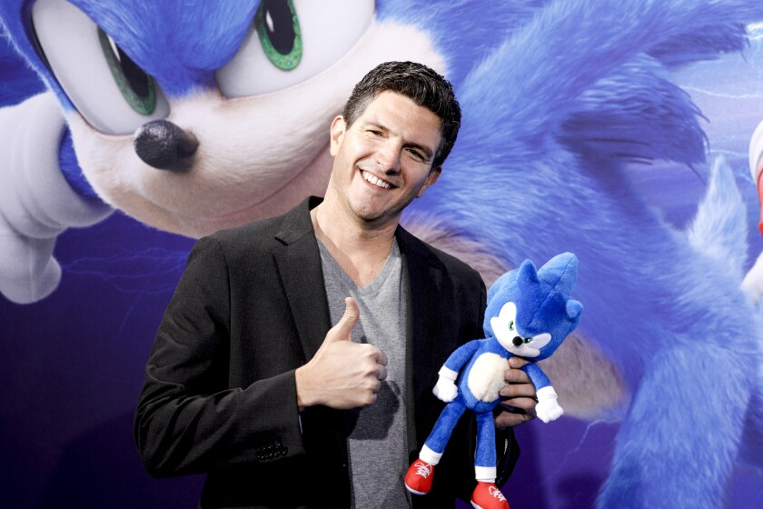 Paramount S Sonic The Hedgehog Makeover Faces Box Office Test Los Angeles Times