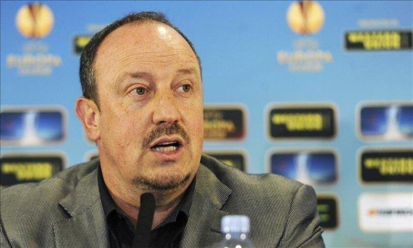 El entrenador español del Chelsea, Rafa Benítez. EFE/Archivo