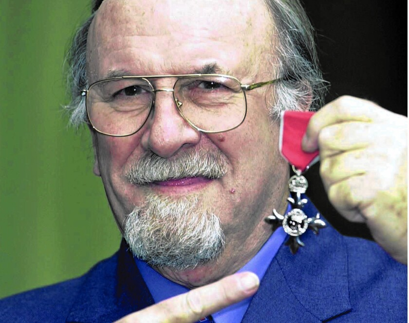 """Clarinetist Acker Bilk, one of the stars of Britain's 1950s """"trad jazz"""" scene, was named a Member of the Order of the British Empire in 2001 for services to music. Bilk died Sunday at the age of 85."""