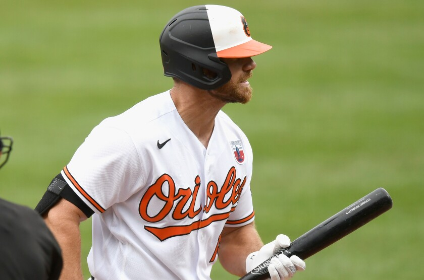 The Orioles' Chris Davis