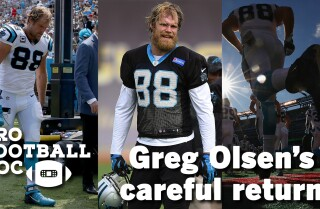Pro Football Doc: Greg Olsen's careful return