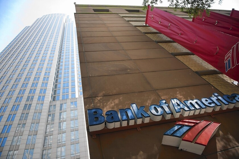 Bank of America and Goldman Sachs reduced their planned capital distributions to shareholders after getting the results from the first round of tests last week.