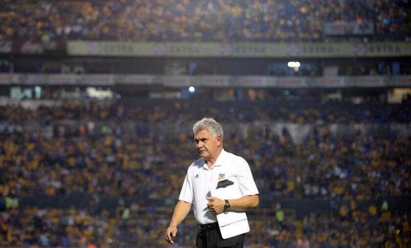 Ricardo Ferretti, entrenador de Tigres. EFE/Archivo