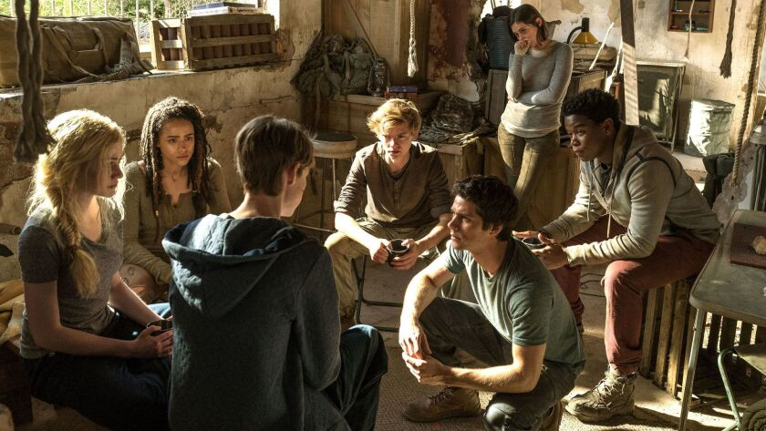 "20th Century Fox's ""Maze Runner: The Death Cure"" opened with $22.7 million in China in its first three days."