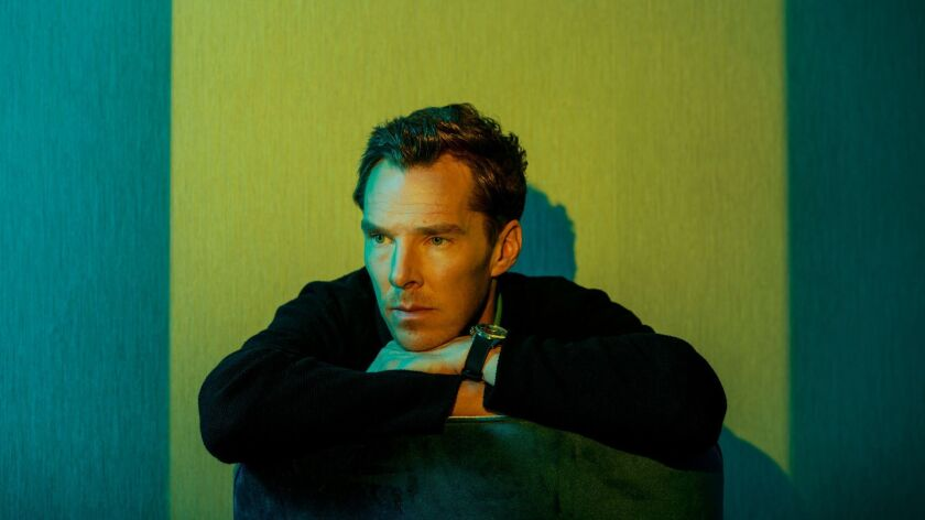 WEST HOLLYWOOD, CALIF. -- WEDNESDAY, APRIL 25, 2018: Actor Benedict Cumberbatch poses for a portrait