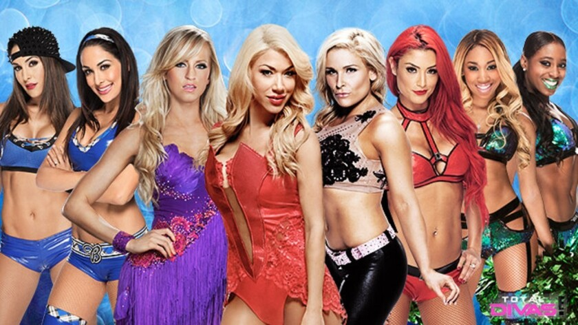 Cast Of Total Divas Discuss The Show, Wwe And Summerslam -2568
