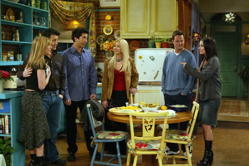 The one with a 'Friends' reunion? Don't count on it