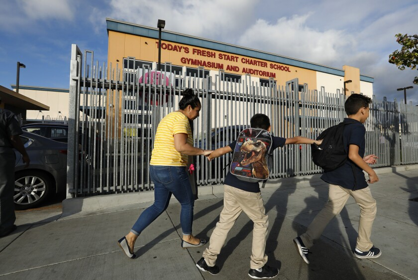 Today's Fresh Start charter school in Inglewood