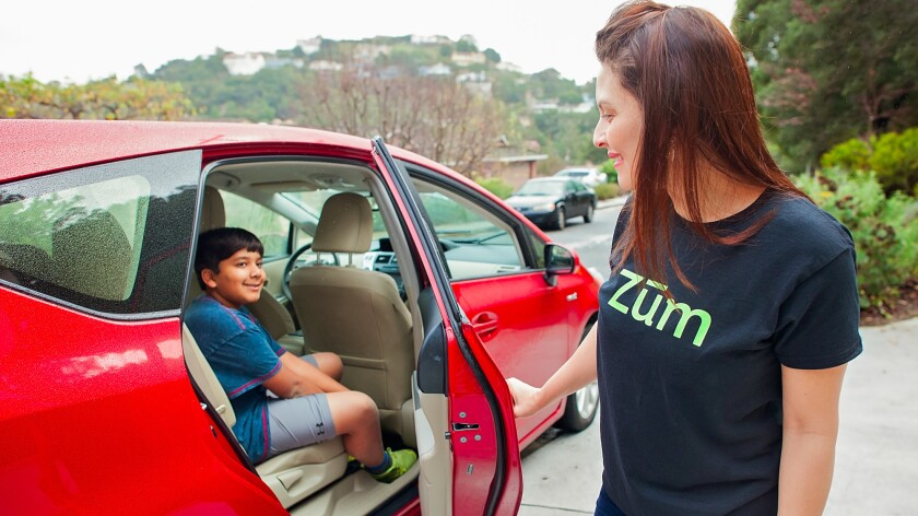 Zum launched in the Bay Area in January. Its next stop is Orange County.
