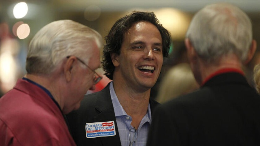 Former California Republican Party leader Tom Del Beccaro is among the candidates running for U.S. Senate.