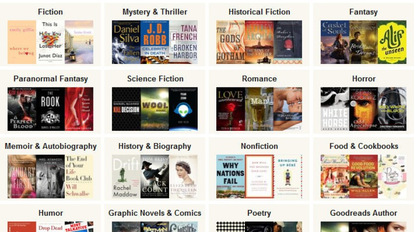 Books in the running for the 2012 Readers Choice awards at Goodreads