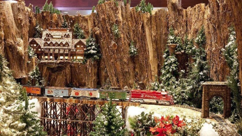 Eiteljorg Museum's popular holiday train exhibit runs through Jan. 21.