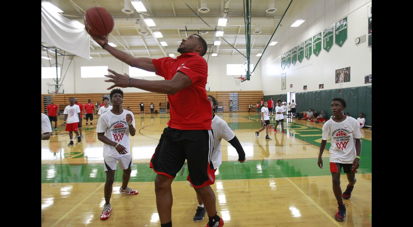 Norman Powell Youth Basketball Camp