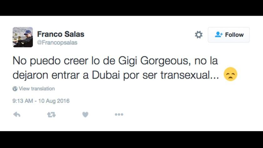 Detienen a modelo en el aeropuerto de Dubai solo por ser transexual