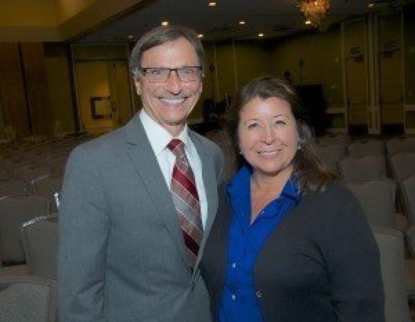 Steve R. Smith and Kathlyn Mead.