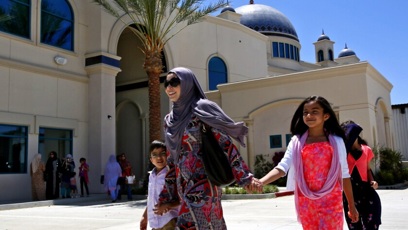 The Islamic Center of San Gabriel Valley includes a mosque, mortuary, school, clinic and library services.