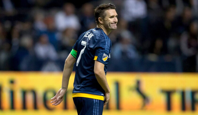 Robbie Keane is expected to be back in the lineup for the Galaxy's game against the Vancouver Whitecaps on Saturday night.