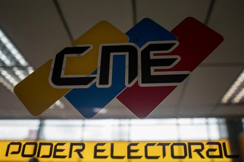 Vista de la sede del Consejo Nacional Electoral (CNE)en Caracas (Venezuela). EFE/Archivo