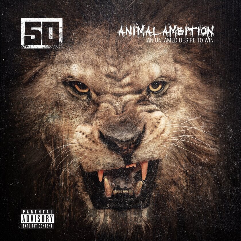 "This CD cover image released by Capitol Records shows ""Animal Ambition: An Untamed Desire to Win,"" a new release by 50 Cent. (AP Photo/Capitol Records)"