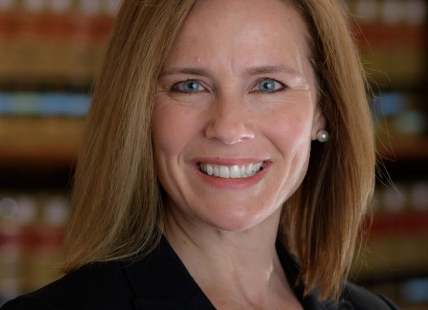 Barrett se desempeña como jueza en la Corte de Apelaciones para el Séptimo Circuito.