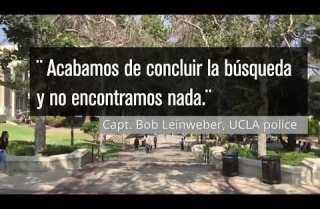 Amenaza de bomba en el campus de UCLA