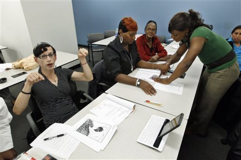 Job Training Efforts Grow For Transgender Workers The San Diego Union Tribune