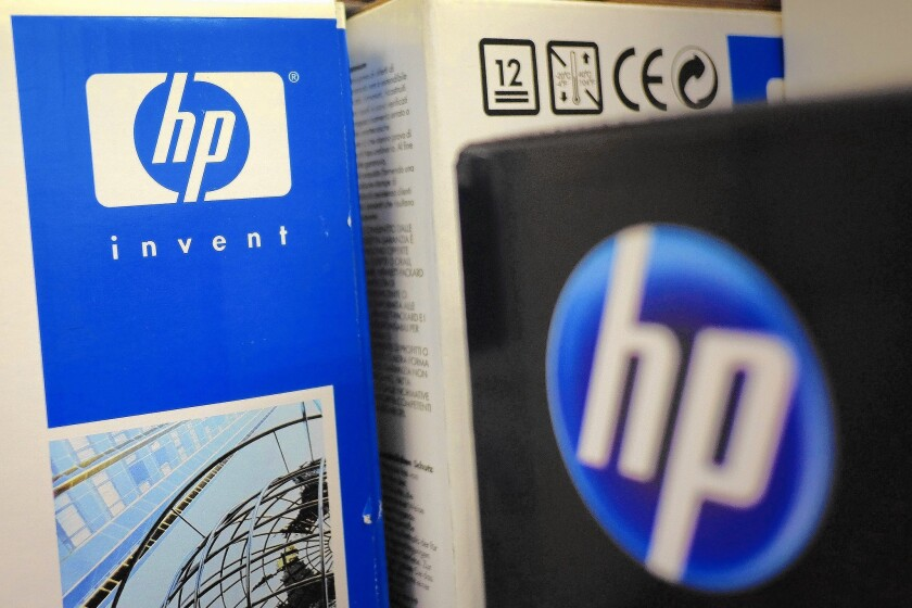 Hewlett-Packard Co. Products As Plans In Place To Split Into Two Separate Companies