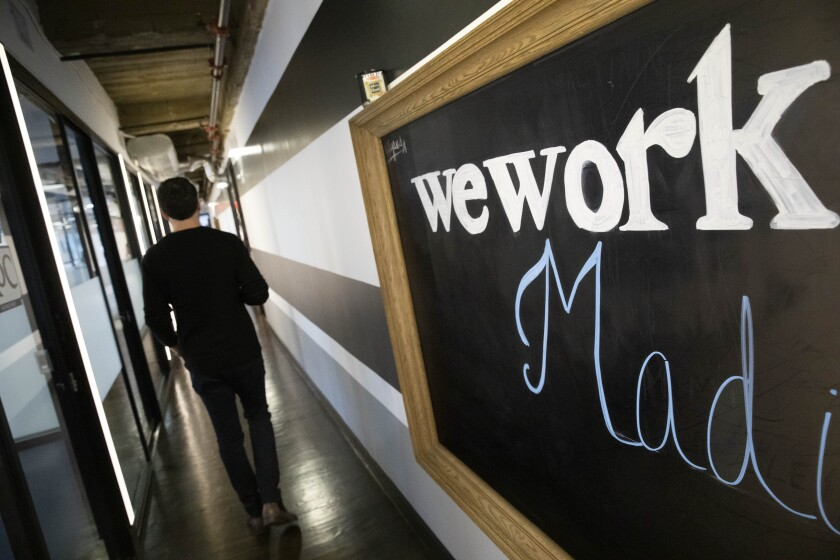 WeWork says job cuts to begin 'in earnest' this week