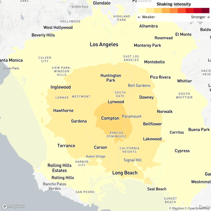 Earthquake: 3.5 quake rattles Los Angeles area