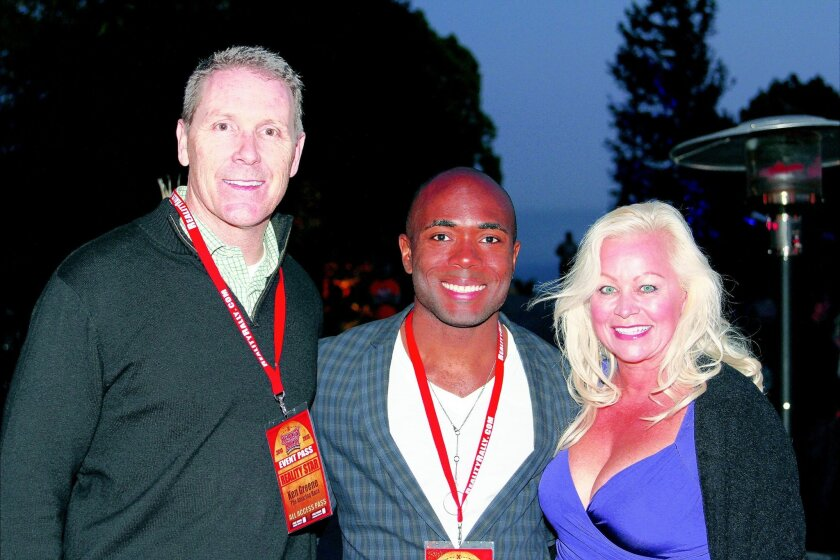 "Ken Greene, Justin Young and Tina Greene from ""The Amazing Race"""